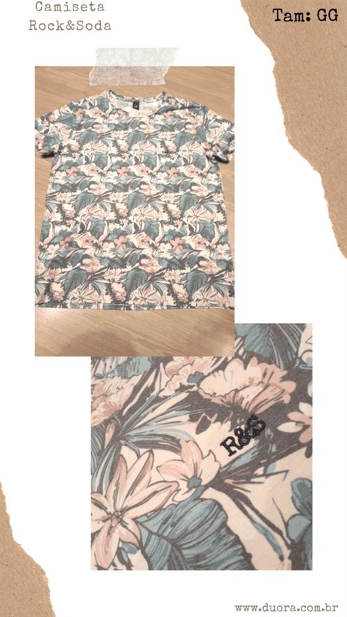 Ficha técnica e caractérísticas do produto Camiseta R&s Mc (Estampado, GG)