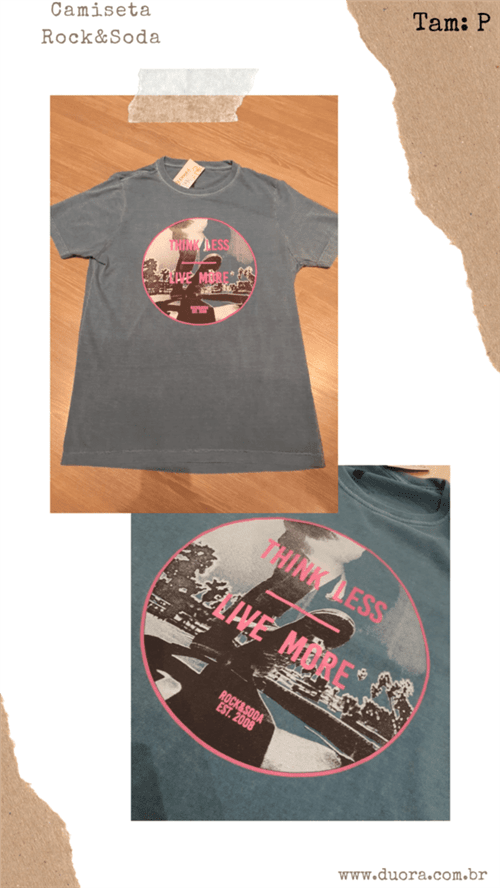 Ficha técnica e caractérísticas do produto Camiseta R&s Mc (Royal, P)