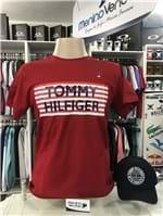 Ficha técnica e caractérísticas do produto Camiseta Tommy Hilfiger Listra (G)