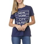 Ficha técnica e caractérísticas do produto Camiseta Tommy Hilfiger New York Grid