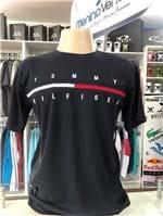 Ficha técnica e caractérísticas do produto Camiseta Tommy Hilfiger Tradicional Azul Marinho (GG)