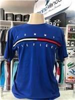 Ficha técnica e caractérísticas do produto Camiseta Tommy Hilfiger Tradicional Azul Roial (GG)