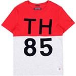 Ficha técnica e caractérísticas do produto Camiseta Toque Camurça Tommy Hilfiger Middle