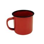 Ficha técnica e caractérísticas do produto Caneca Esmaltada Vermelha 5 Cm 90 Ml