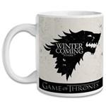 Ficha técnica e caractérísticas do produto Caneca Game Of Thrones - Stark - Branco