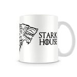 Ficha técnica e caractérísticas do produto Caneca Game Of Thrones Stark White
