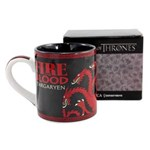 Ficha técnica e caractérísticas do produto Caneca Game Of Thrones - Targaryen