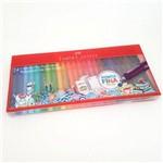 Caneta Fine Pen Colors Faber Castell 24 Cores