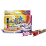 Caneta P/ Tecido Acrilex Art Teen Acrilpen 006 Cores 04416