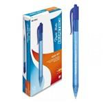 Ficha técnica e caractérísticas do produto Caneta Retrátil Esferográfica Paper Mate Kilometrica 100 Rt Azul CX C/ 12 Un