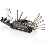 Ficha técnica e caractérísticas do produto Canivete de Ferramentas Atrio 15 Funções BI032