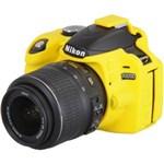 Ficha técnica e caractérísticas do produto Capa de Silicone para Nikon D3200 - Amarela