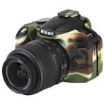 Ficha técnica e caractérísticas do produto Capa de Silicone para Nikon D3200 - Camuflada