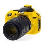 Ficha técnica e caractérísticas do produto Capa de Silicone para Nikon D5300 - Amarela