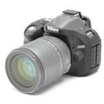 Ficha técnica e caractérísticas do produto Capa de Silicone para Nikon D5200