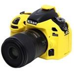Ficha técnica e caractérísticas do produto Capa de Silicone para Nikon D600 e D610 - Amarela