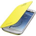 Capa Protetora Flip Cover Samsung Galaxy SIII - Amarela - Samsung