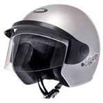 Ficha técnica e caractérísticas do produto Capacete Moto Aberto Liberty Three 56 Prata - Pro Tork - 56