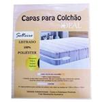 Ficha técnica e caractérísticas do produto Capas de Colchão de Solteiro em Poliéster