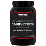 Carnitech 100% Beef Protein 900g Chocolate - Atlhetica Nutrition