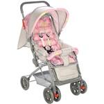 Carrinho de Bebê Passeio Funny Rosa - Voyage