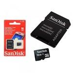 Ficha técnica e caractérísticas do produto Cartão de Memória 16Gb Sandisk