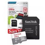 Cartao de Memoria 32GB Micro SD com Adaptador(Classe 10) - Sandisk