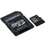 Ficha técnica e caractérísticas do produto Cartão de Memoria Kingston Micro Sd 32gb C10