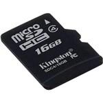 Ficha técnica e caractérísticas do produto Cartão de Memória Micro Sd 16gb Kingston