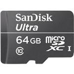 Cartão de Memória Micro SD 64GB SanDisk Ultra 30MB/s