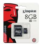 Ficha técnica e caractérísticas do produto Cartão de Memória Micro Sd 8GB Kingston