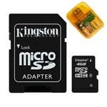 Ficha técnica e caractérísticas do produto Cartão de Memória Micro SD Kingston 4GB