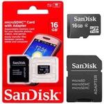 Ficha técnica e caractérísticas do produto Cartão de Memória Sandisk 16Gb