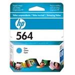 Ficha técnica e caractérísticas do produto Cartucho de Tinta HP 564 CB318WL Ciano