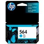 Ficha técnica e caractérísticas do produto Cartucho de Tinta HP 564 Ciano CB318WL