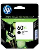 Ficha técnica e caractérísticas do produto Cartucho de Tinta HP 60XL Preto Original [ D2530 ,D2545 ,D2560 ,F4280 ,F4480 ,F4680, HP Deskjet 1660