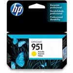 Cartucho de Tinta HP 951 Amarelo - CN052AL