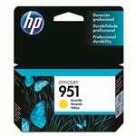 Ficha técnica e caractérísticas do produto Cartucho de Tinta HP Officejet 951 Amarelo CN052AB