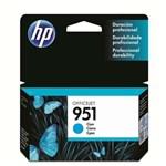 Ficha técnica e caractérísticas do produto Cartucho de Tinta HP Officejet 951 CN050AL Ciano
