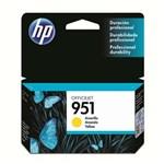 Ficha técnica e caractérísticas do produto Cartucho de Tinta HP Officejet 951 CN052AL Amarelo