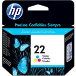 Cartucho de Tinta HP 22 Tricolor C9352AL - Original