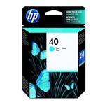 Ficha técnica e caractérísticas do produto Cartucho HP 40 Cyan 42ml 51640c HP CX 1 UN