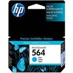 Ficha técnica e caractérísticas do produto Cartucho HP 564 - Ciano - HP