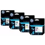 Ficha técnica e caractérísticas do produto Cartucho Hp 711 Kit 4 Cores