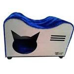 Ficha técnica e caractérísticas do produto Casa de Pelucida para Gato Azul