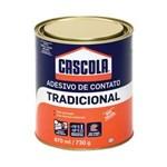 Ficha técnica e caractérísticas do produto Cascola Adesivo de Contato Tradicional 730g - 870ml