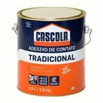 Ficha técnica e caractérísticas do produto Cascola Tradicional Sem Toluol 2,8kg - 1406652 - Alba Quimica