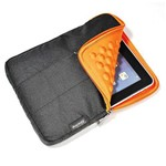 "Case Universal para Tablet 7"" Bubbles Laranja - Leadership"