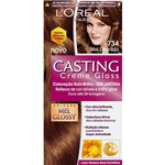 Ficha técnica e caractérísticas do produto Casting Creme Gloss 734 Mel Dourado - L'oreal