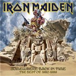 CD Iron Maiden - Somewhere Back In Time: The Best Of 1980-1989